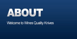 About Wines Knives